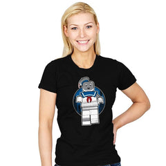 Mini Marshmallow Man Exclusive - Brick Tees - Womens - T-Shirts - RIPT Apparel