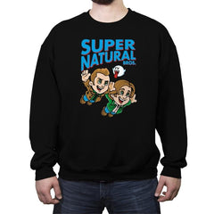 Super Natural Bros - Crew Neck Sweatshirt - Crew Neck Sweatshirt - RIPT Apparel