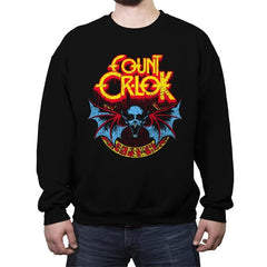 SPEAK OF THE VAMPIRE - Crew Neck Sweatshirt - Crew Neck Sweatshirt - RIPT Apparel