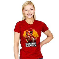Red Redemption - Womens - T-Shirts - RIPT Apparel