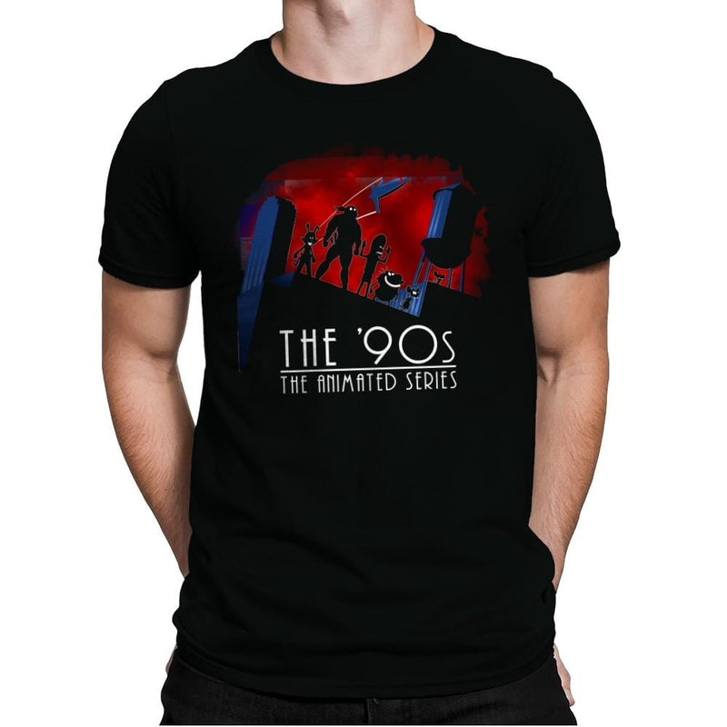 The Animated 90s - Mens Premium - T-Shirts - RIPT Apparel