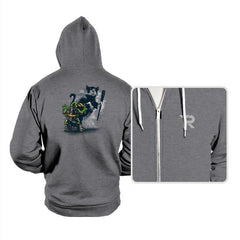 Teenage Mutant Street Art - Hoodies - Hoodies - RIPT Apparel