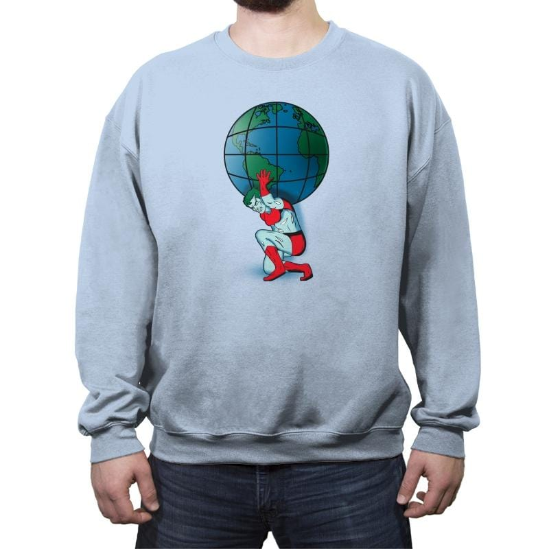 Saving the Planet - Crew Neck Sweatshirt - Crew Neck Sweatshirt - RIPT Apparel