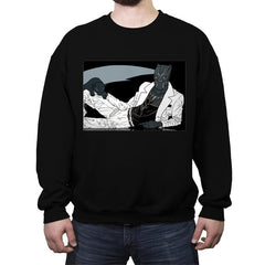 The Panther King of Pop - Crew Neck Sweatshirt - Crew Neck Sweatshirt - RIPT Apparel