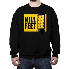 Kill Feet - Crew Neck Sweatshirt - Crew Neck Sweatshirt - RIPT Apparel