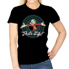 That's Life - Womens - T-Shirts - RIPT Apparel
