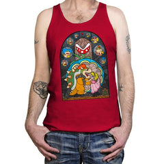 Beauty and the Bowser - Tanktop - Tanktop - RIPT Apparel
