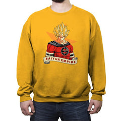 SAIYAN EMPIRE - Crew Neck Sweatshirt - Crew Neck Sweatshirt - RIPT Apparel