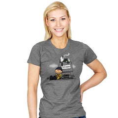 Video Store Nuts - Womens - T-Shirts - RIPT Apparel
