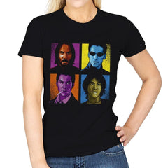 Pop Keanu - Anytime - Womens - T-Shirts - RIPT Apparel