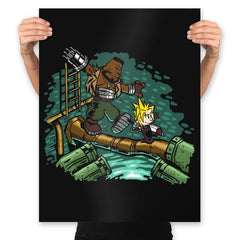 Barret & Cloud - Prints - Posters - RIPT Apparel