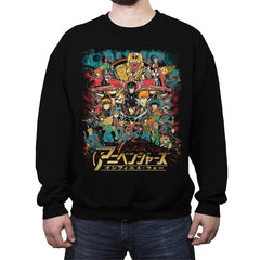 Infinime War - Crew Neck Sweatshirt - Crew Neck Sweatshirt - RIPT Apparel