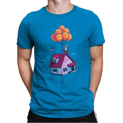Adventure is Up There - Gamer Paradise - Mens Premium - T-Shirts - RIPT Apparel