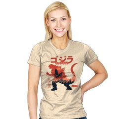 King of the Monsters Vol.2 - Womens - T-Shirts - RIPT Apparel