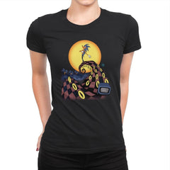 Nightmare Of The Rings - Womens Premium - T-Shirts - RIPT Apparel