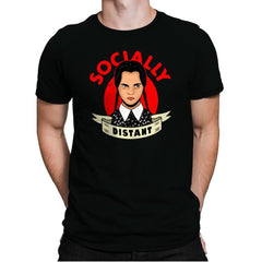 Socially Distant - Mens Premium - T-Shirts - RIPT Apparel