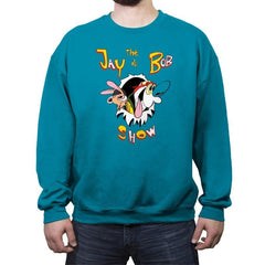 The Jay & Bob show - Crew Neck Sweatshirt - Crew Neck Sweatshirt - RIPT Apparel