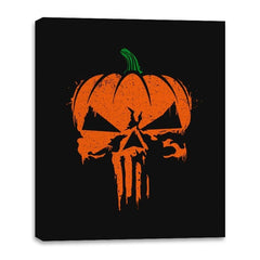 The Pumpkinsher - Canvas Wraps - Canvas Wraps - RIPT Apparel