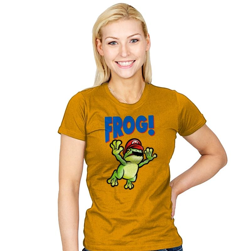 Frog! Exclusive - Womens - T-Shirts - RIPT Apparel