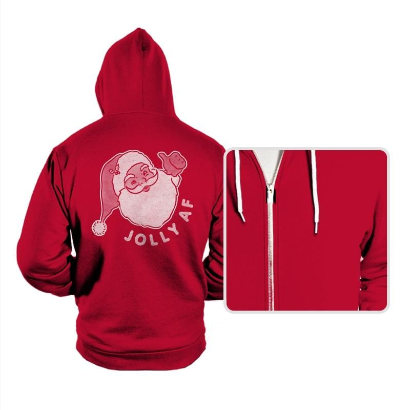 Jolly AF - Hoodies - Hoodies - RIPT Apparel