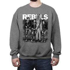 Rebels - Crew Neck Sweatshirt - Crew Neck Sweatshirt - RIPT Apparel