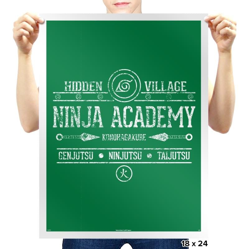 Ninja Academy Exclusive - Anime History Lesson - Prints - Posters - RIPT Apparel