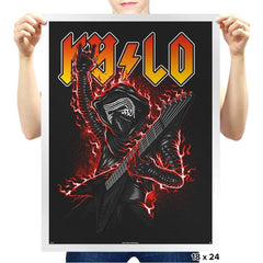Kylo Rocks - Prints - Posters - RIPT Apparel