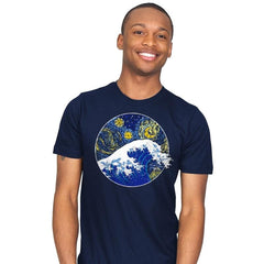 Starry Wave - Mens - T-Shirts - RIPT Apparel