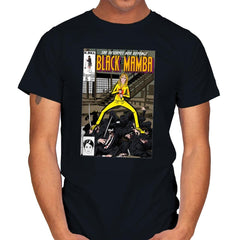 Black Mamba - Mens - T-Shirts - RIPT Apparel