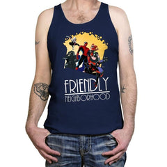 Friendly Neighborhood - Anytime - Tanktop - Tanktop - RIPT Apparel