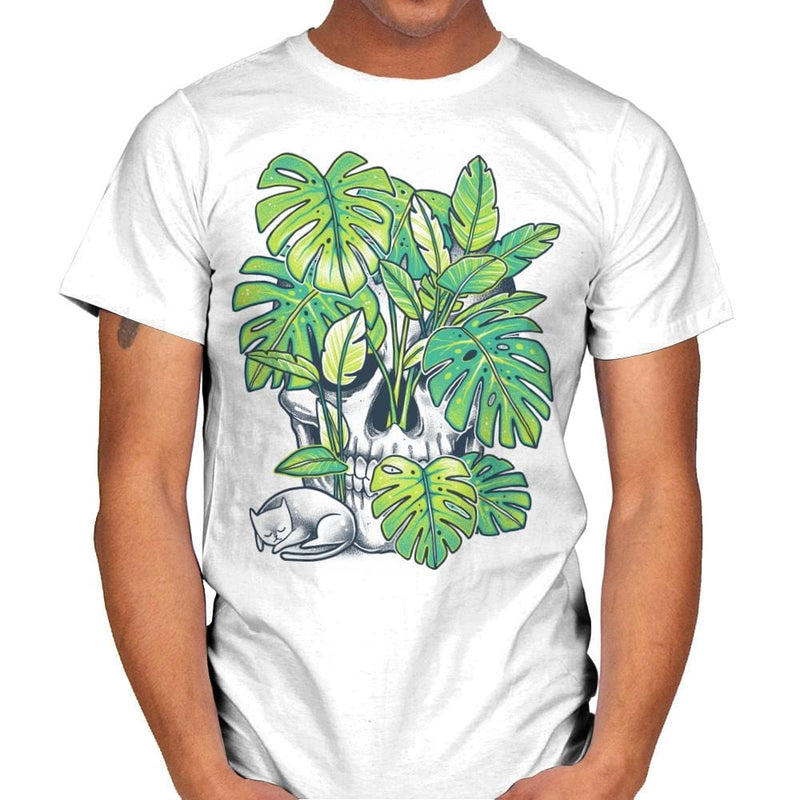 Plant Skull - Mens - T-Shirts - RIPT Apparel