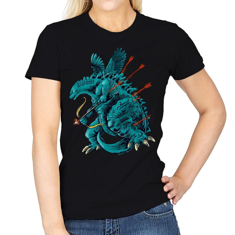 Godzilla Cupid - Womens - T-Shirts - RIPT Apparel