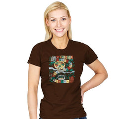 You Live or You Die: A Board Game - Womens - T-Shirts - RIPT Apparel