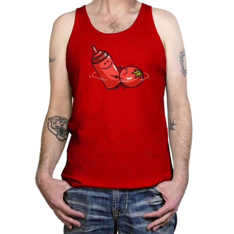 When the Love is Pure - Tanktop - Tanktop - RIPT Apparel
