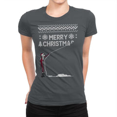 Stolen Christmas - Ugly Holiday - Womens Premium - T-Shirts - RIPT Apparel