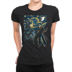 Starry Remake - Womens Premium - T-Shirts - RIPT Apparel