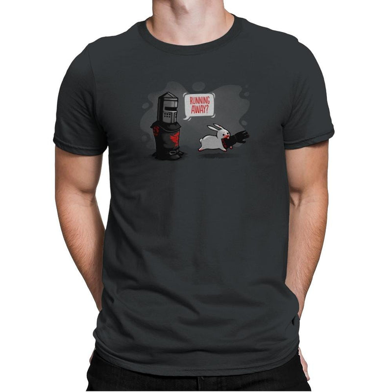 Running Away - Gamer Paradise - Mens Premium - T-Shirts - RIPT Apparel