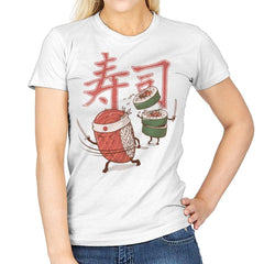 Sushi Warrior - Womens - T-Shirts - RIPT Apparel