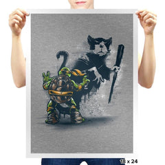 Teenage Mutant Street Art - Prints - Posters - RIPT Apparel