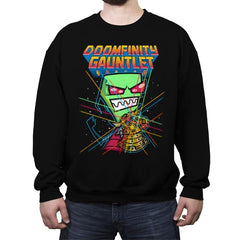 Doomfinity - Crew Neck Sweatshirt - Crew Neck Sweatshirt - RIPT Apparel