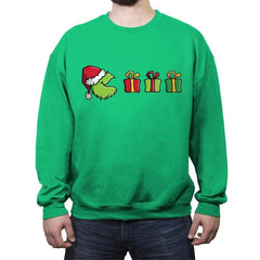 Grinched-Man - Crew Neck Sweatshirt - Crew Neck Sweatshirt - RIPT Apparel