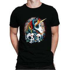 Sweet Unicorn Cammeo - Mens Premium - T-Shirts - RIPT Apparel