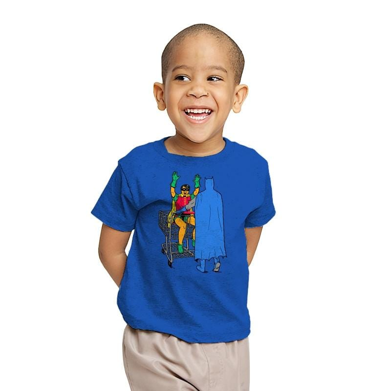 Shopping With The Boy - Youth - T-Shirts - RIPT Apparel