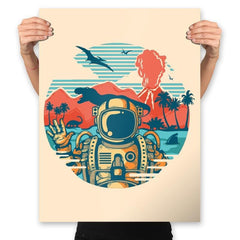 Wrong Vacation - Prints - Posters - RIPT Apparel