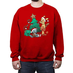 Pokemas - Crew Neck Sweatshirt - Crew Neck Sweatshirt - RIPT Apparel