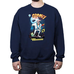 Groovy Space Adventures Reprint - Crew Neck Sweatshirt - Crew Neck Sweatshirt - RIPT Apparel