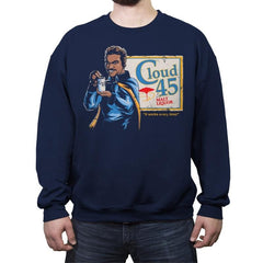 Lando's Cloud 45 - Crew Neck Sweatshirt - Crew Neck Sweatshirt - RIPT Apparel