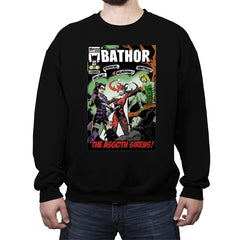 Bathor and the Asgoth Sirens - Crew Neck Sweatshirt - Crew Neck Sweatshirt - RIPT Apparel