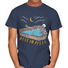Rest In Pizza - Mens - T-Shirts - RIPT Apparel