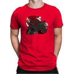 Santa vs Krampus - Mens Premium - T-Shirts - RIPT Apparel